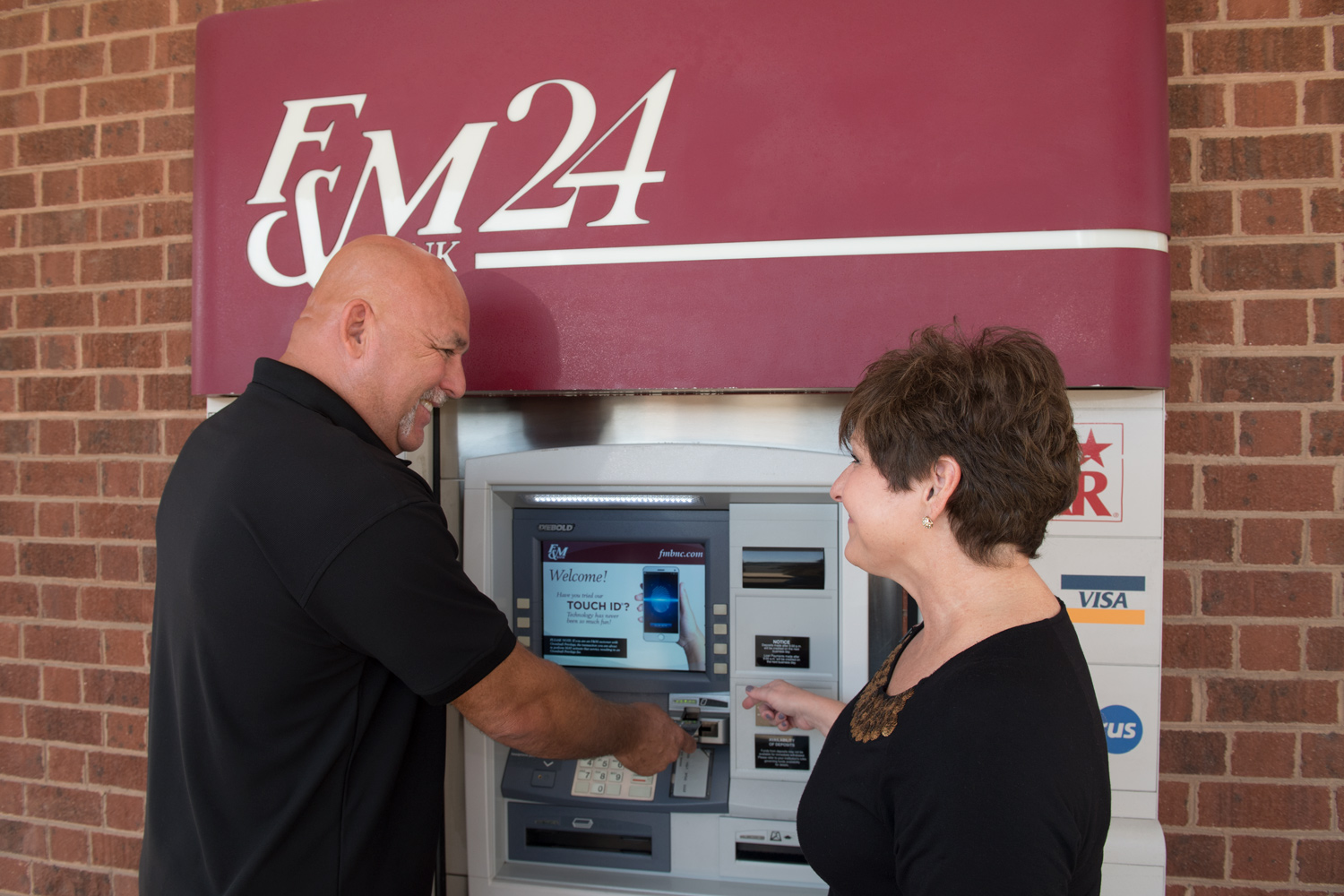 ATM Banking › F&M Bank
